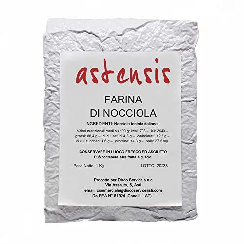 Astensis Farina Di Nocciola 1000gr - Per preparazione di dolci - Sottovuoto Nocciole Naturali Italia...