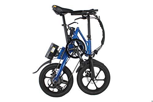 Kwikfold Xite-3A Bicicletta Pieghevole Bici Bicicletta elettrica Pieghevole 16 Pollici Pieghevole Ruota Shimano 7