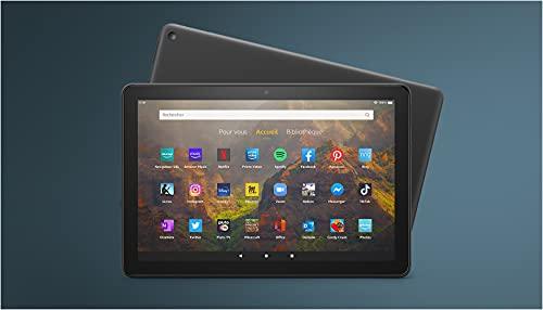 """Découvrez la tablette Fire HD 10   10,1"""" (25,6 cm), Full HD 1080p, 32 Go   Noir   Avec publicités"""