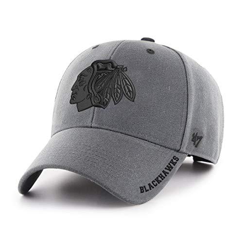 47 Brand Adjustable Cap DEFROST Chicago Blackhawks Charcoal