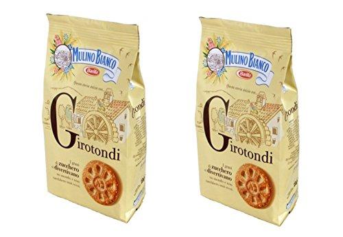 Mulino Bianco: frollini 'Girotondi' con grani di canna da zucchero - 350 g Confezione da 2