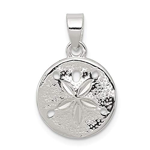 925 Sterling Silver Sand Dollar Sea Star Starfish Pendant Charm Necklace Seashore Seashell Fine Jewelry For Women Gifts For Her