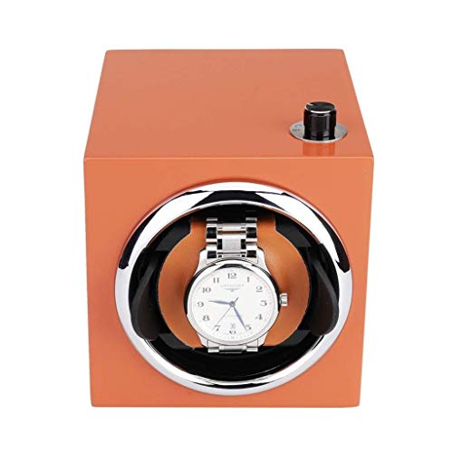 TEHWDE Automatische horlogebox, winder, mini-draaibaar, met quiet motor, horloge voor reizen, horloge, winder, motor, winder