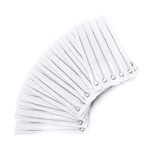 TATELF Tattoo Needles 100 PCS 1RL 3RL 5RL 7RL 9RL Needles Stainless Steel...