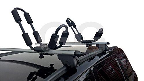 Soporte para kayak, para montaje en baca de coche, universales