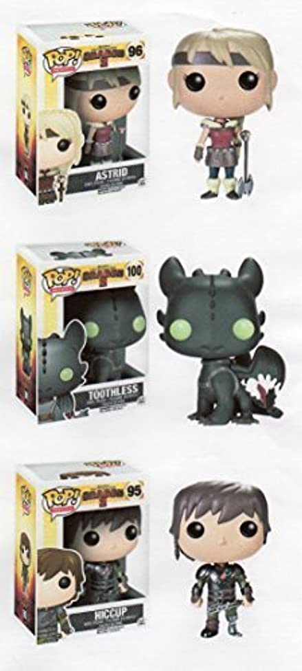 Funko HOW TO TRAIN YOUR DRAGON 3pc 3.75