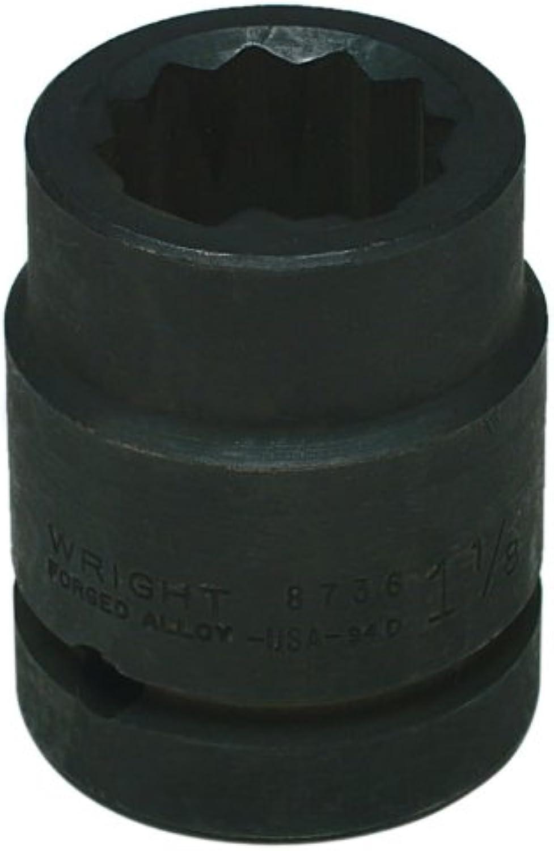 Wright Werkzeug 8752 1–5 8 Zoll mit 1 Antrieb 12 Point Standard Impact Sockets B005G0NBOG   Zürich Online Shop