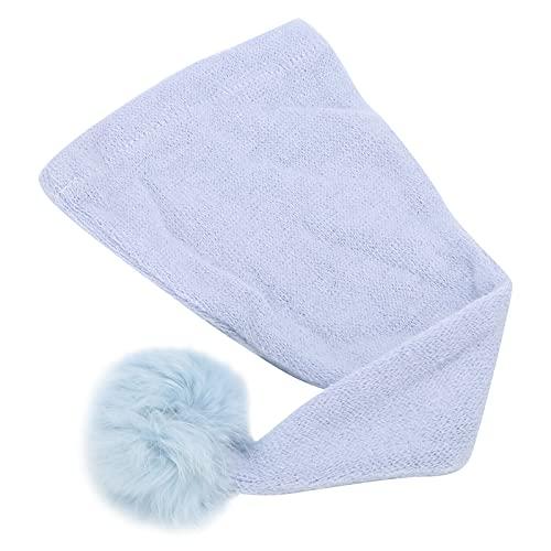 Sombrero de disfraz de bebé, gorro de punto infantil transpirable para fotógrafo de uso general para fotografía de recién nacidos para baby shower(Azul claro)