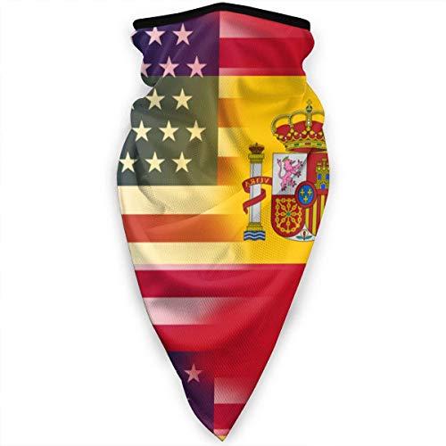 Gwrix Multifunctionele halsdoek, ademend hoofdwear, halsgamas, magische sjaal, halfgelaats, Trump Vintage Usa American Flag Sport-bandana, halfgelaatssjaal, mannen vrouwen en meisjesbedekking