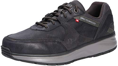 JOYA Herren Sneaker Rückenfit Bequemweite Schwarz Gr. 42