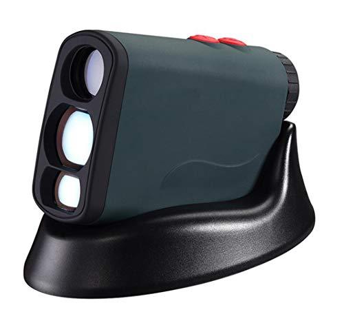 LNLJ 6-voudige vergroting van de multifunctionele golf afstandsmeter met een bereik van 600 m, vlaggenmast, helling, mist met USB-lader (groen)