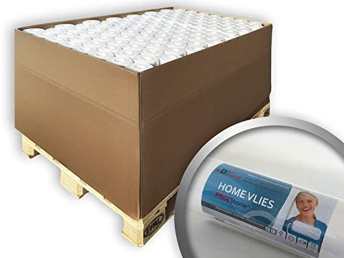 Renovlies Schildervlies 130 g Profhome HomeVlies 399-135 overschilderbaar glad wit renovatievlies voor wand en plafond | 105 rollen 2625 m2