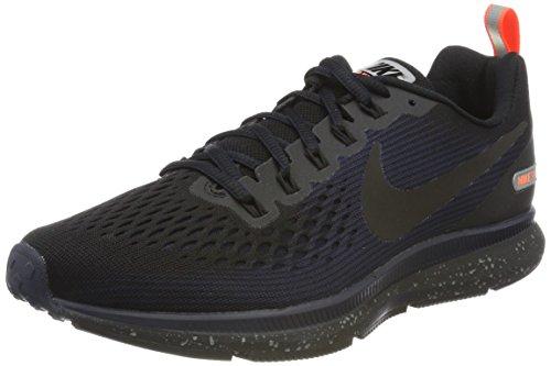 NIKE Men's Air Zoom Pegasus 34 Shield Black/Black/Black/Obsidian Running Shoe 7.5 Men US