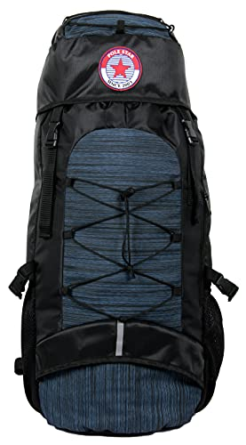 POLESTAR 55 Ltrs 24 cms Rucksack Backpack With Rain Cover (8906103712319_Navy Blue)