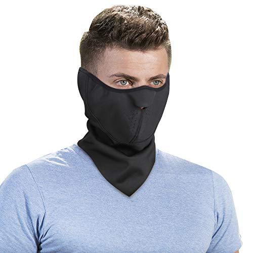 Omeneex Balaclava Half Face Mask with Earloop