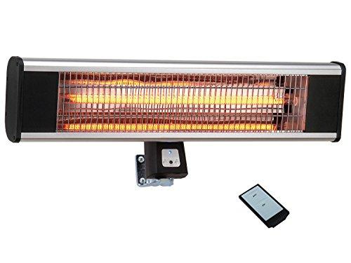 Traedgard® Estufa eléctrica infrarrojo por la terraza Helgoland, con Mando a Distancia,...