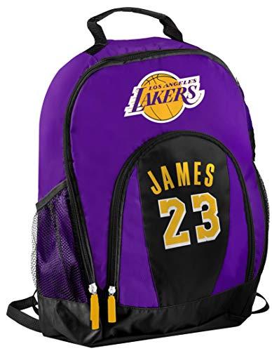 FOCO - Los Angeles Lakers Primetime Backpack - Lebron James #23 (Lebron James (Purple))