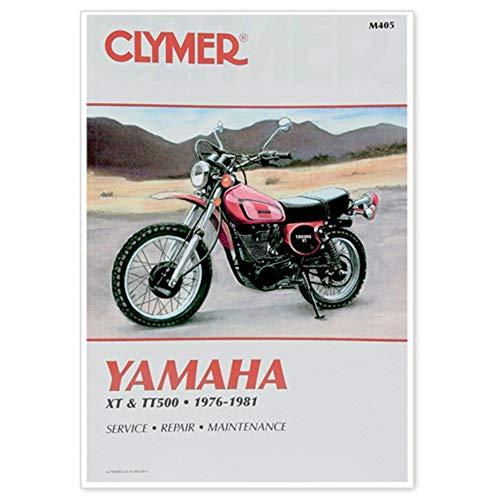 Clymer 27-M405 Repair Manual Yam Xt/Tt500