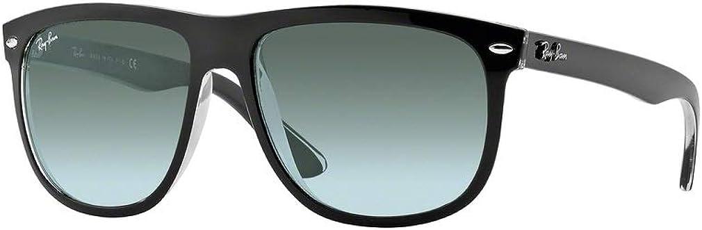 Ray-Ban Mens Rb4147 Boyfriend Square Sunglasses