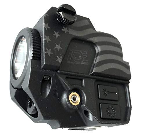 Ade Advanced Optics LS007G Patriot Series Strobe Green Laser Flashlight Sight for Pistol Handgun