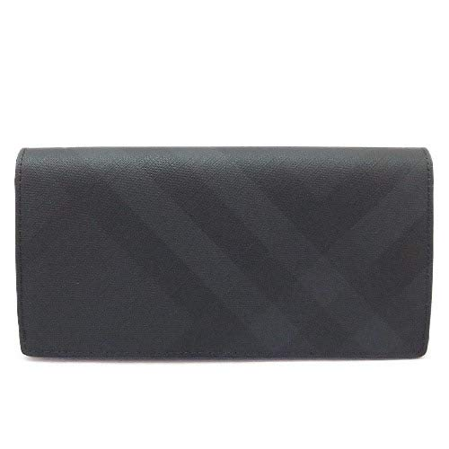 『London Check and Leather Continental Wallet(80144791)』