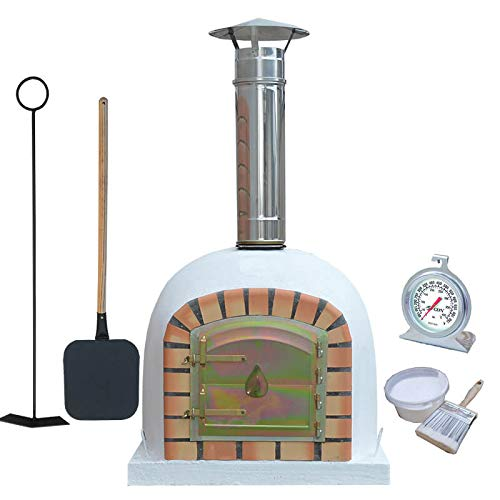 Traditional Outdoor Wood Fired Pizza Oven 60 cm Package