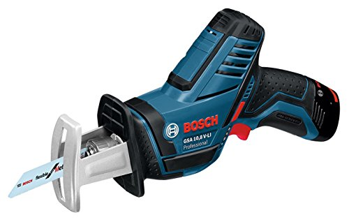 Bosch Professional(ボッシュ) 10.8V コードレスセーバーソー (2.0Ahバッテリー2個・充電器・キャリングケース付) GSA10.8V-LIN