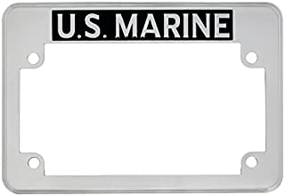 "United Pacific 50084 "" ""U.S. Marine"" Motorcycle License Plate Frame"