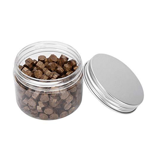 200PCS Wax Seal Beads, Retro Octagon Sealing Wax Beads für Seal Stamp, für Umschläge Dokumente Hochzeitseinladung Weinpakete(Bronze)