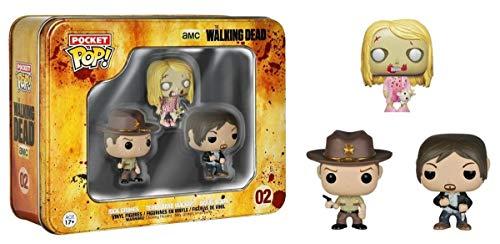 Figura Pop Walking Dead Set 3 Mini Figuras