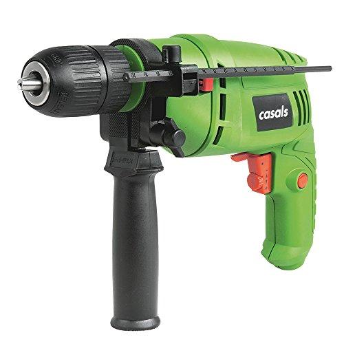 Casals C01242000 Taladro Percutor 500W con cable, 500 W, 240 V
