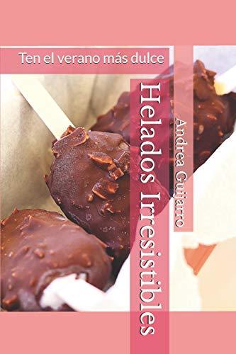 Libro con recetas de helados naturales