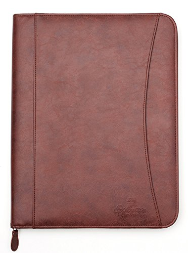 Professional Executive PU Leather Business Resume Portfolio Padfolio...