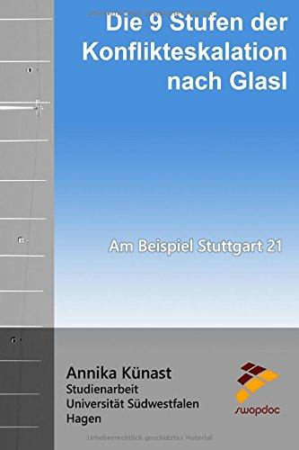 Die 9 Stufen der Konflikteskalation nach Glasl: Am Beispiel Stuttgart 21