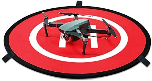 KINBON Drone Landing Pads Waterproof 30 Universal Landing Pad Fast fold Double Sided Quadcopter product image
