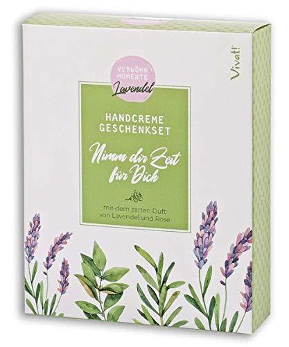 Handcreme-Geschenkset Lavendel »Nimm dir Zeit für dich«