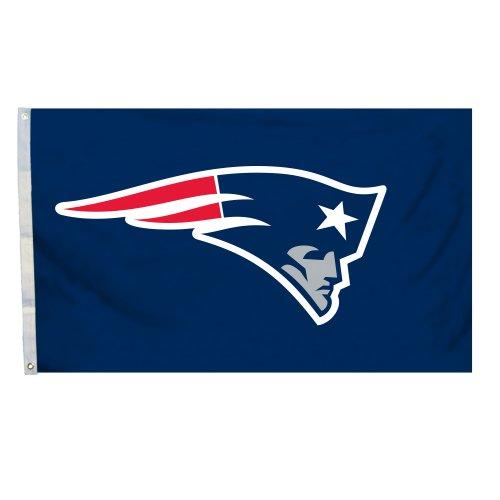 Fremont Die NFL Logo Flagge mit Tüllen, 3x 5-Foot, New England Patriots