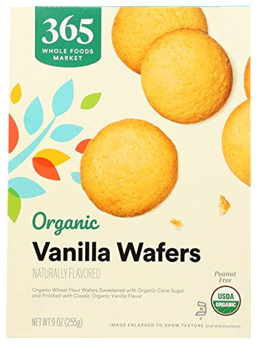 365 by Whole Foods Market, Organic Cookies, Vanilla Wafers, 9 Ounce