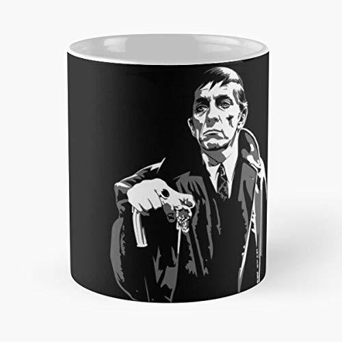 GrimDC Dracula Twilight Soap Opera Barnabas Shadows Dark Vampire Taza de café con Leche 11 oz