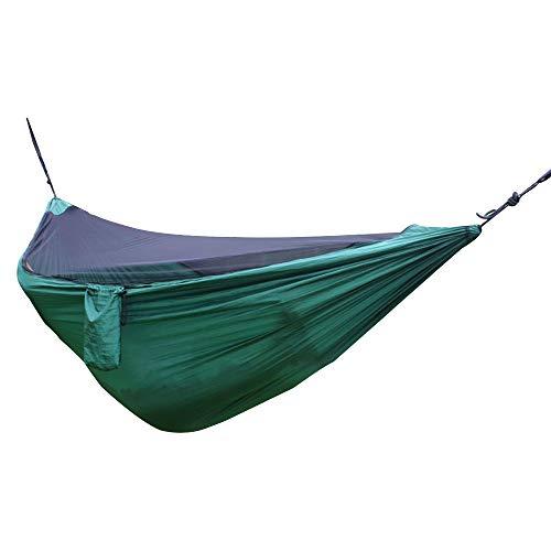Hamacas de camping Hamaca con red de malla ligera portátil de nylon hamaca multifuncional HammockNap al aire libre camping
