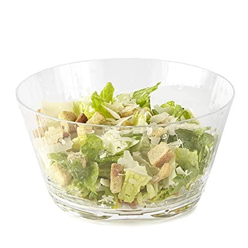 Huang Acrylic Raindrops Salad Bowl (9')