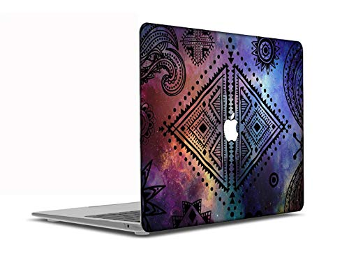 Congsansuo Cut Out Design Plastic Pattern Ultra Slim Light Hard Shell Case Cover Compatible New MacBook Pro 15 inch Touch Bar/Touch ID Model:A1707/A1990,Galaxy A 130
