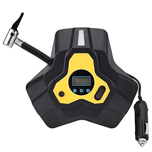 Draagbare compressor voor auto-lucht, 12 V, 120 W, digitale rubberen banden, opblaasbaar, W/3 luchtcompressorpomp