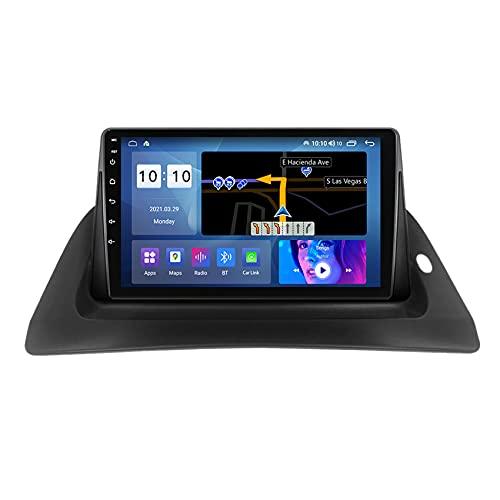 ADMLZQQ Android 10.0 Radio de Coche para Renault kangoo 2015-2018 Autoradio Navegador GPS cámara de visión Trasera/FM/Control del Volante/Manos Libres Bluetooth,M100s