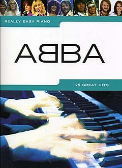 25 GREAT HITS - gearrangeerd voor piano [noten/Sheetmusic] Componist ABBA uit de serie: REALLY EASY PIANO