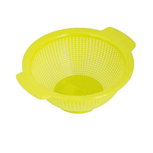 ORYX 5071060 Escurridor/Colador Cocina Ø 23.5 cm, Plastic, Verde