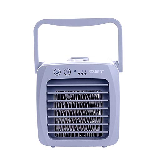 Mini Draagbare Airconditioner Ventilator Bureau USB Airconditioning Arctische Koeling Luchtventilator Koeler Arctische Koeling Luchtbevochtiger Luchtreiniger Dempen Stil Voor Thuiskantoor