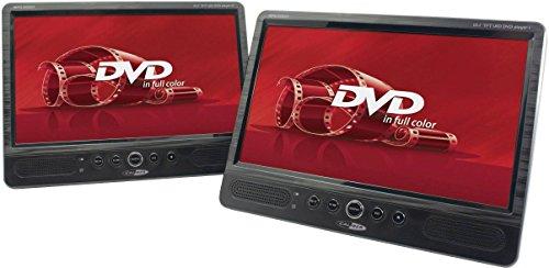 Caliber Mpd2010T Portable Dvd Met Twee Dvd'S Spelers, 10 Inch