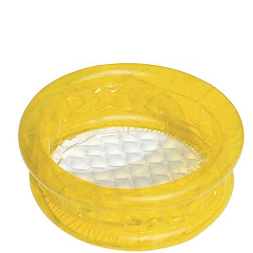 LSZ Piscina Inflable for niños Ducha for bebés Piscina de Bolas Marinas casa Piscina Grande Parque acuático Piscina de Juguetes for bebés Piscinas hinchables (Color : Yellow)