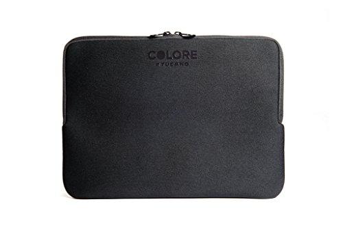 Tucano Second Skin Colore Neopren-Hülle für widescreen Notebooks 38.5 × 26 × 3 Widescreen Notebooks schwarz
